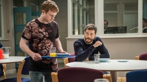 THE FALL, Staffel 3 - Paul (Jamie Dornan) in der Klinik - © BBC