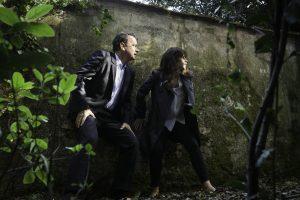 Szenenbild aus INFERNO (2016) - Robert (Tom Hanks) und Sienna (Felicity Jones) auf der Flucht - © Sony Home
