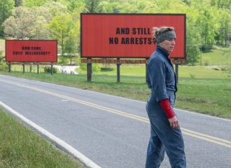 Szenenbild aus THREE BILLBOARDS OUTSIDE EBBING MISSIOURI - Mildred Hayes (Frances McDormand) - © Fox