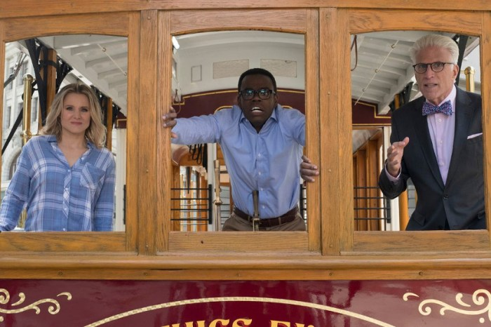 Szenenbild aus THE GOOD PLACE - Staffel 2 - Das Trolley-Problem - © Colleen Hayes/NBC | 2017 NBC Universal Media, LLC
