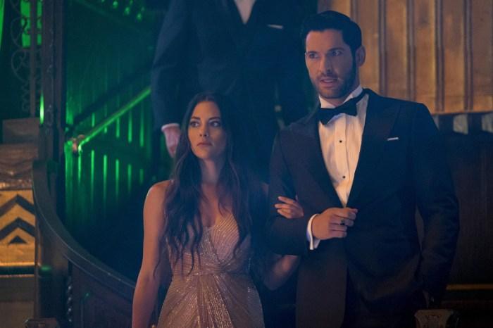 Szenenbild aus LUCIFER - Staffel 4 -  Eva (Inbar Lavi) und Lucifer (Tom Ellis) - © Netflix