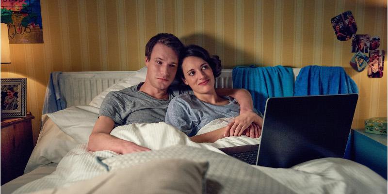 Szenenbild aus FLEABAG - 1. Staffel - Harry (Hugh Skinner) und Fleabag (Phoebe Waller-Bridge) - © Amazon Prime Video