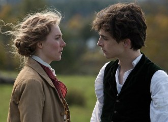 Szenenbild aus LITTLE WOMEN (2019) - Jo March (Saoirse Ronan) und Laurie (Timothée Chalamet) - © Sony Pictures
