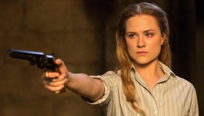 Szenenbild aus WESTWORLD - 1. Staffel (2016) - Dolores (Evan Rachel Wood) - © HBO