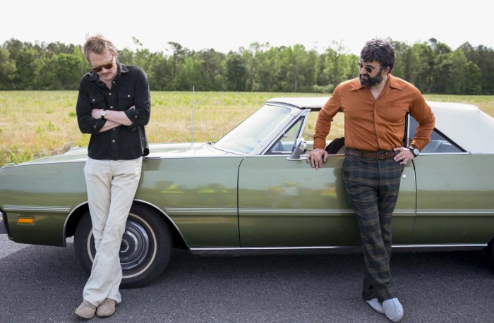 Szenenbild aus UNCLE FRANK (2020) - Paul Bettany and Peter Macdissi star in UNCLE FRANK Photo: Brownie Harris Courtesy of Amazon Studios