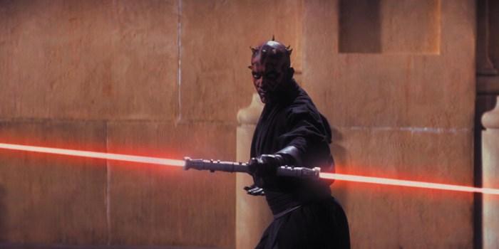 Szenenbild aus STAR WARS - EPISODE 1 - The Phantom Menace - Darth Maul (Ray Park) - © 20th Century Fox