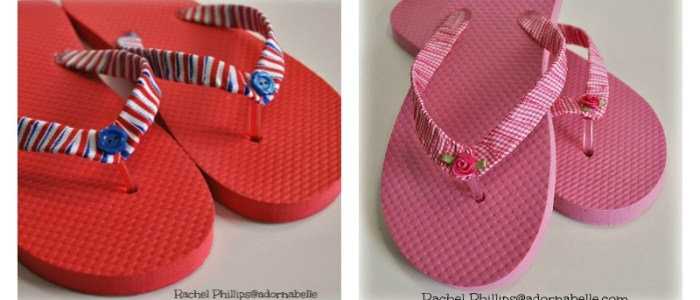 Ribbon Flip Flops (Adornabelle) 14- collage