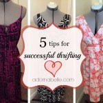 Five Tips for Successful Thrift Shopping