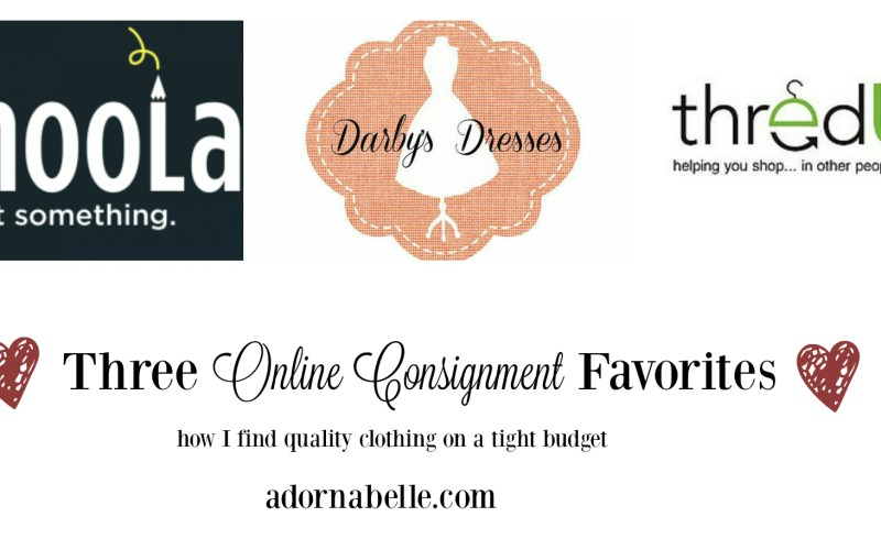 Online Thrifting: My favorite Shops
