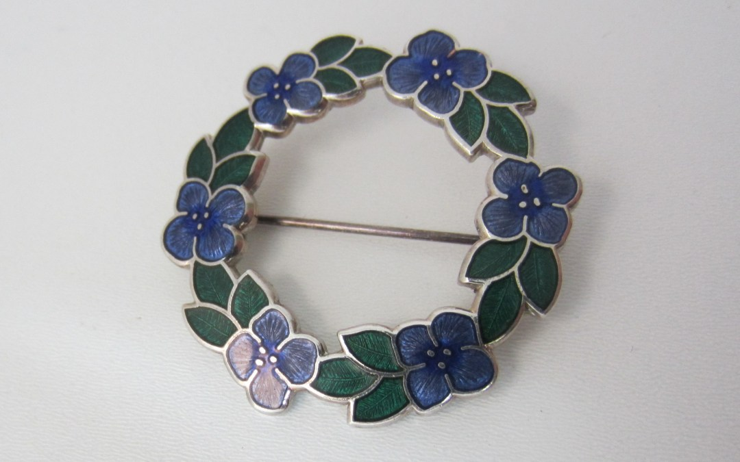 Arrival of 1970's to 1980's Enamel Jewellery At Adorn Anew