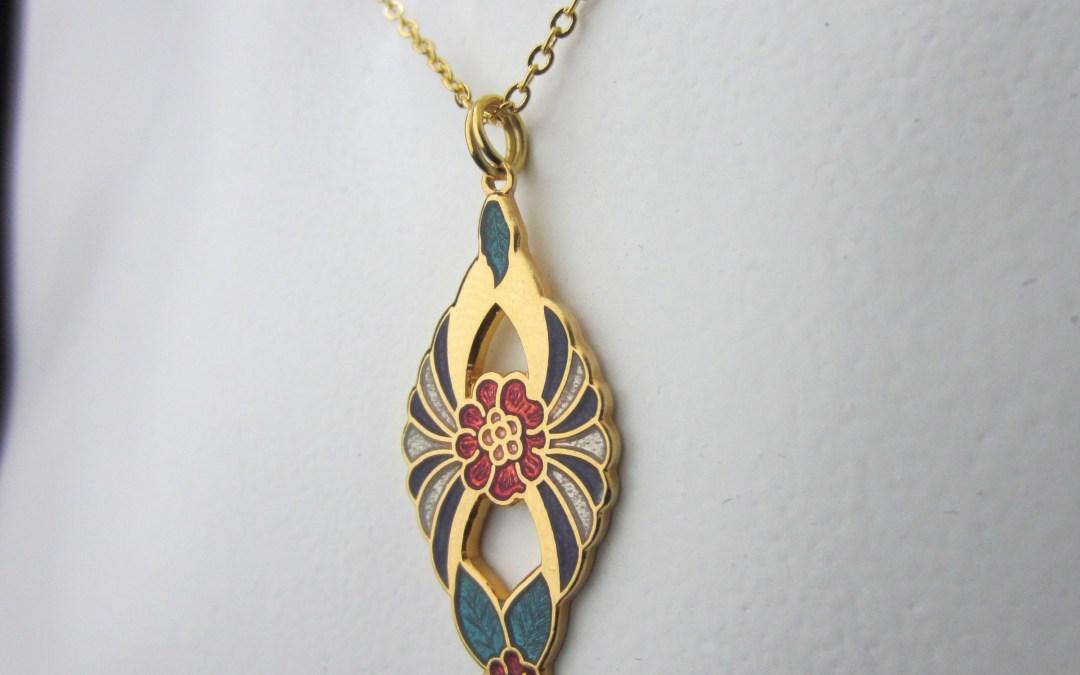 New Retro Enamel 1980's – 1990's Jewellery Now Available