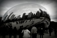 City in a bubble
