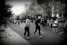 glimpse of the Chicago Marathon