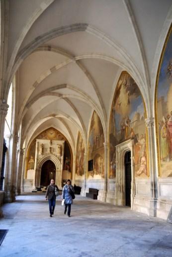 25 cloister fresco hall