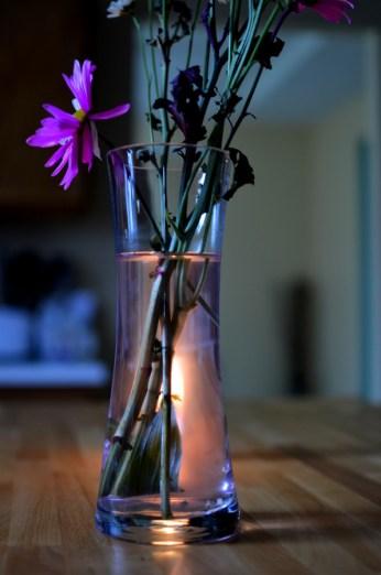 candlelit flower1