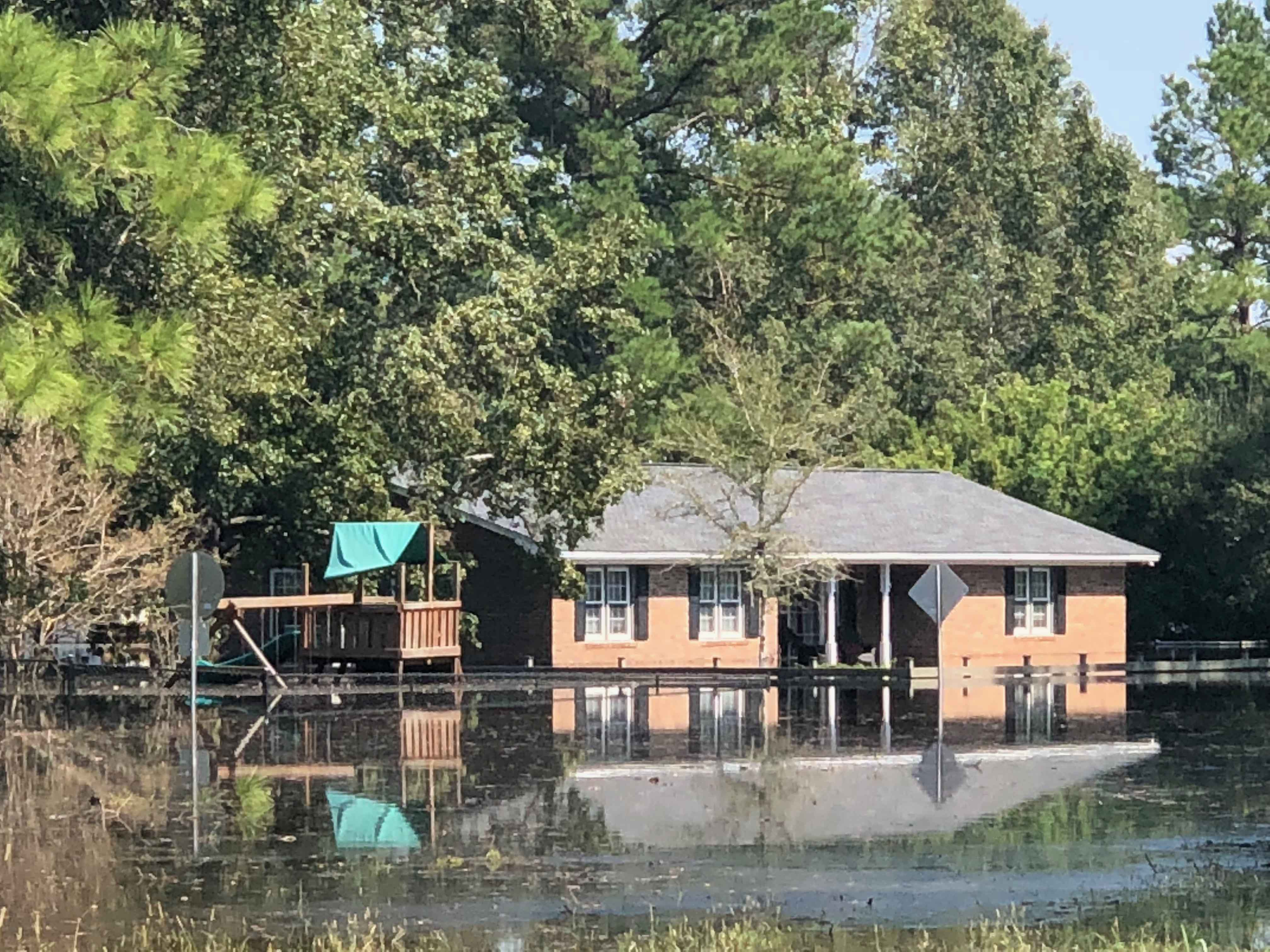Hurricane Florence In Conway South Carolina