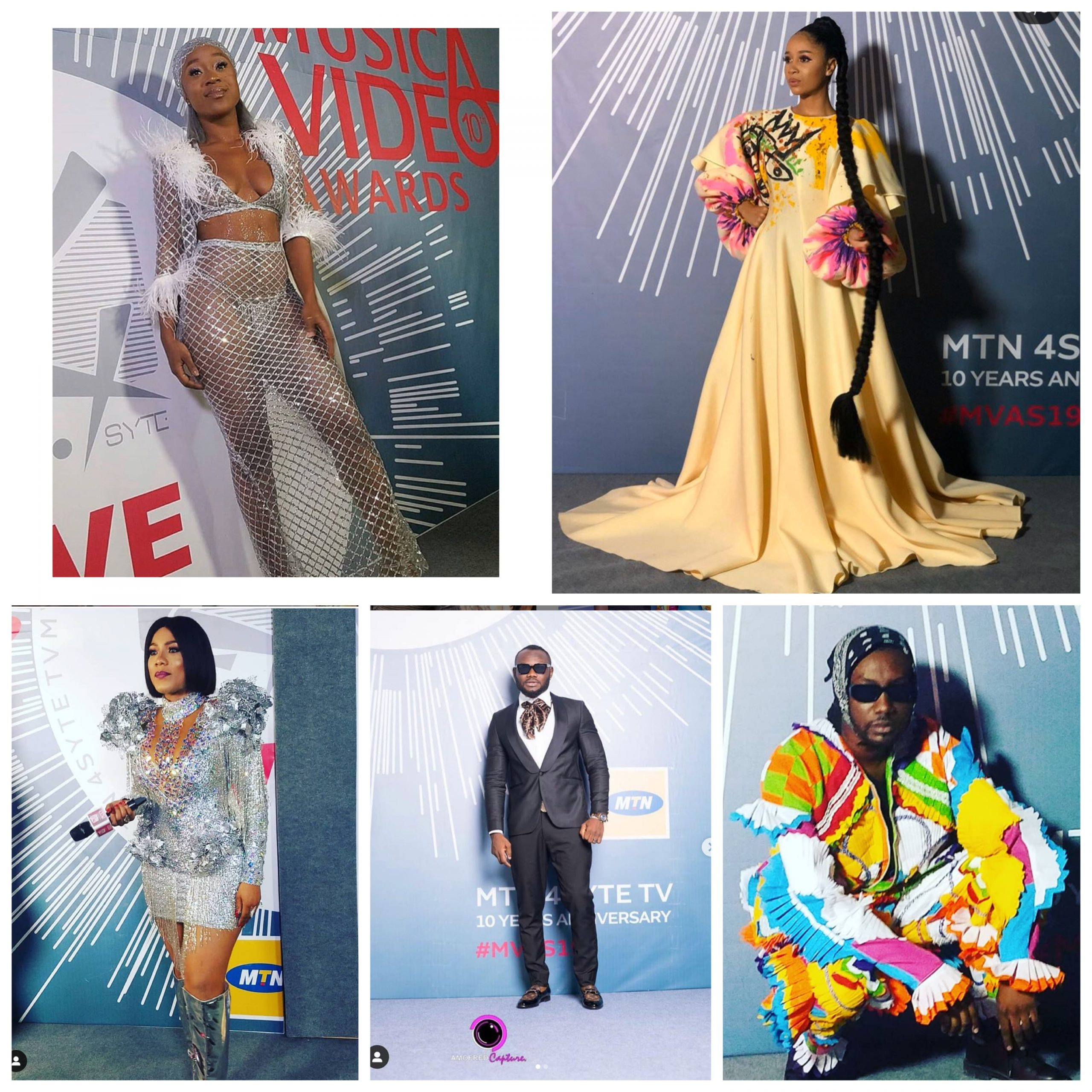 What your favourite stars wore to the 4syte TV MVAs