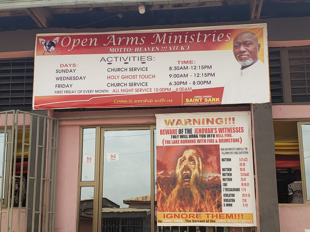 #Covid_19: Pastor arrested in Kumasi for defying President's public ban directive