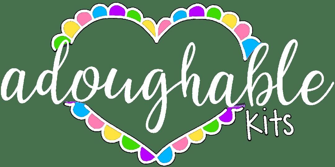 adoughable logo white
