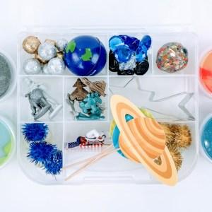 space playdough kit