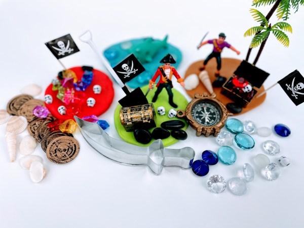 pirate playdough kits