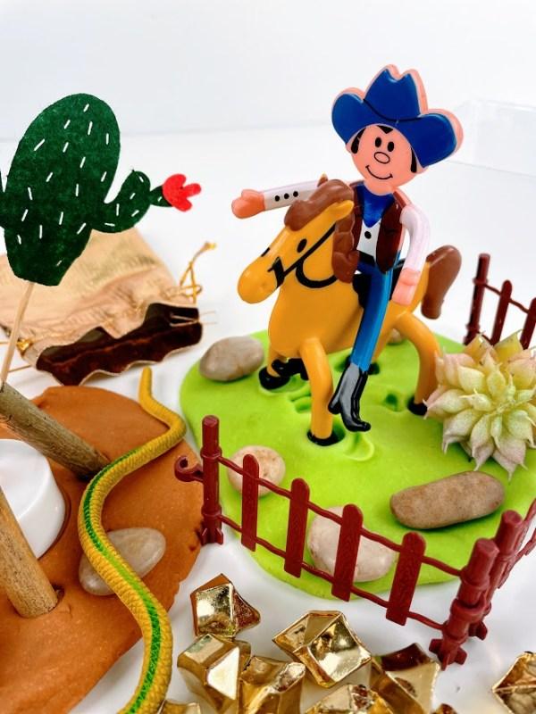 cowboys playdough set