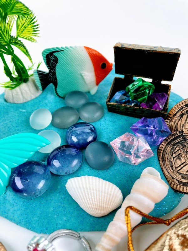 ocean playdough kit