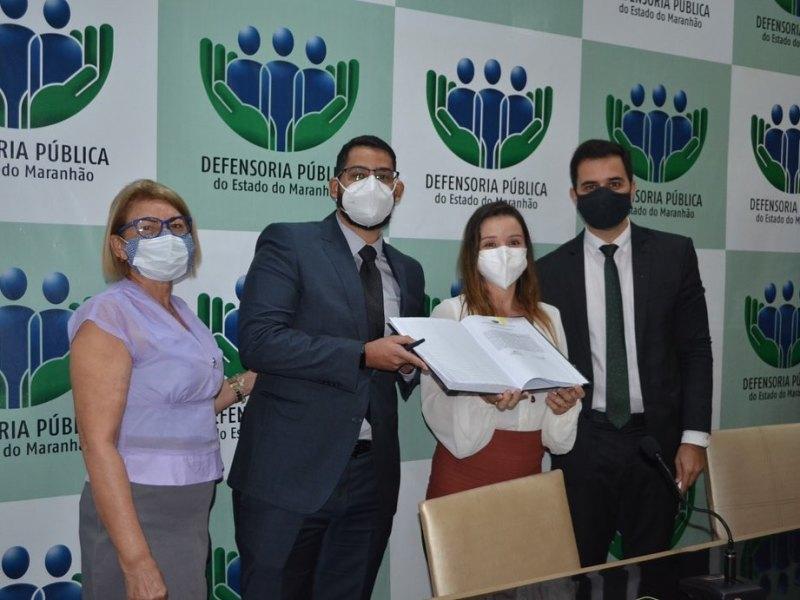 ADPEMA participa da posse do defensor público Dr. Diego Serejo