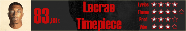 Lecrae-Timepiece