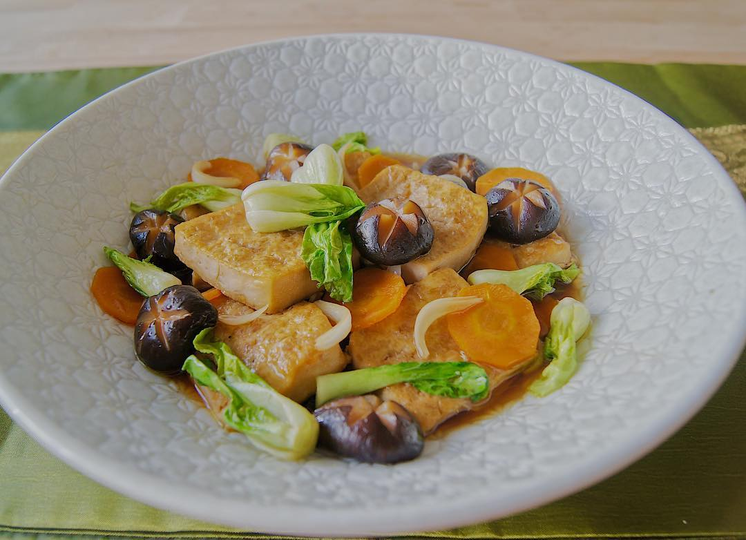 Soy Sauce Braised Tofu Homestyle