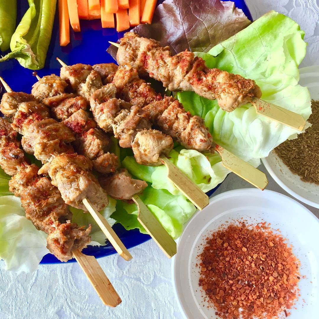 Xinjiang Lamb BBQ skewers