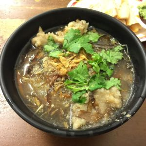 Pork Potage with Rice Noodles