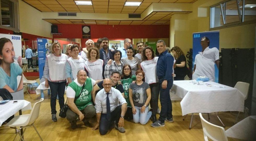 ADRA Ragusa, FESTA DELLA SALUTE- SUCCESSO DELLA RETE DEI PETALI DEL CUORE