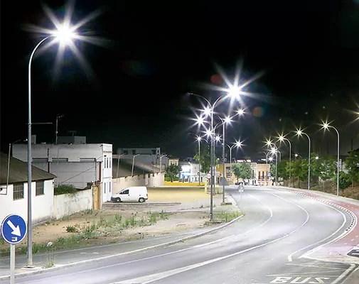iluminacion exterior led