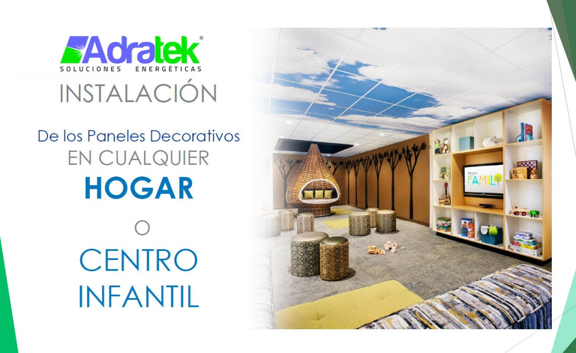 panel led decorativo hogar