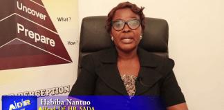 Habiba Nantuo (Head of HR SADA)
