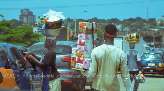 Sachet water tops the list of items sold on the streets