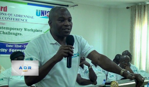 John Amegashie, General Secretary, UNICOF