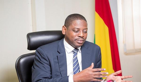 Rev Daniel Ogbamey Tetteh, Director-General, SEC