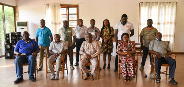 The management members, executives of the PMSU and the consultants