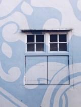 Porcelain hotel shophouse architecture window design