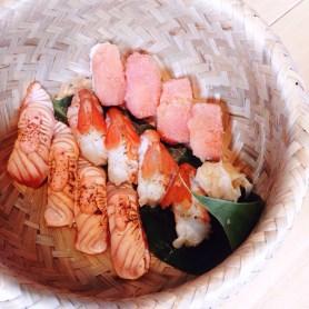 Tburu aburi sushi