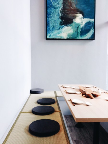 Tburu Japanese restaurant interior design