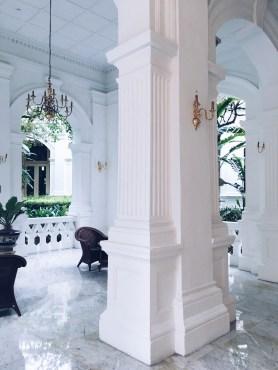 Raffles hotel Singapore heritage building architecture