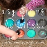 3 Easy Spring Activities for Kids!