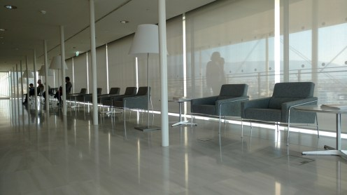 rest area at the last floor of ISN
