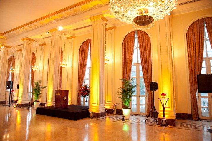O Salão do evento no Copacabana Palace
