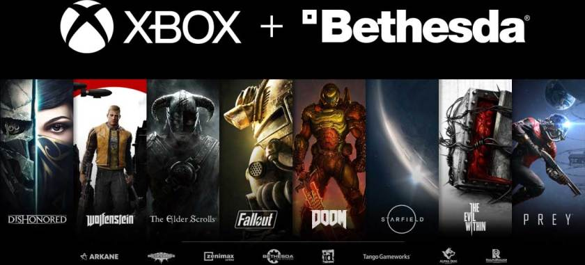Microsoft buys Bethesda for $7.5 billion to join Xbox division