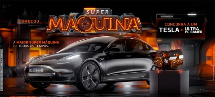 Kaboom!  launches promotion that will give away a top-of-the-line PC Gamer and a Tesla Model 3