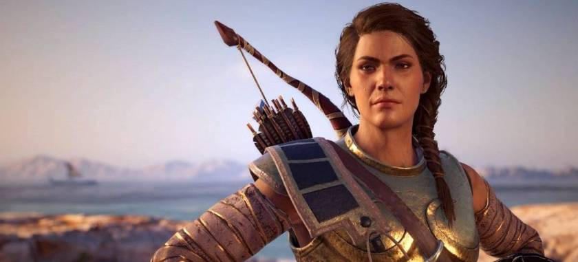Leak indicates AC Odyssey's Kassandra may appear in AC Valhalla's DLC